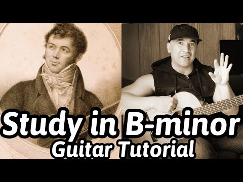 Study In B-minor | Fernando Sor | Classical Guitar Tutorial | NBN Guitar