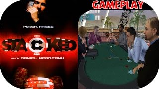 Stacked with Daniel Negreanu - iNTRO & Gameplay PS2 HD