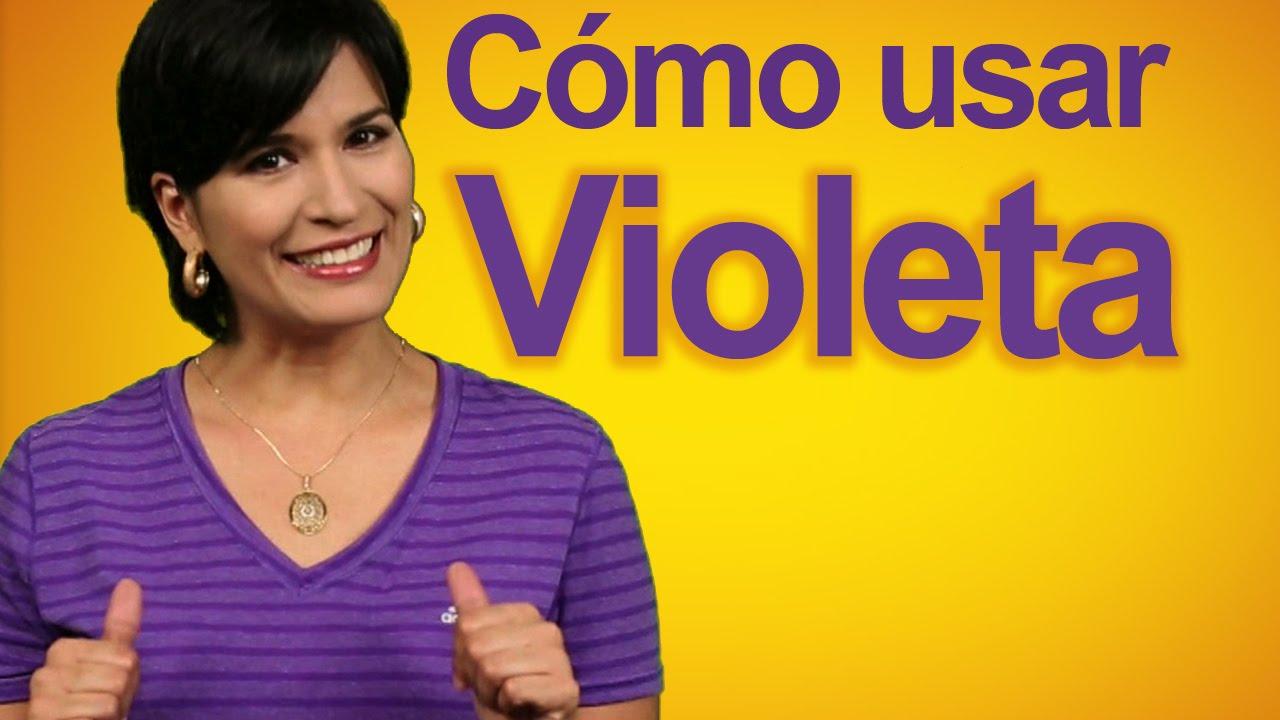 C mo usar el color violeta decora tu casa diy youtube for Que color asociar con el gris claro