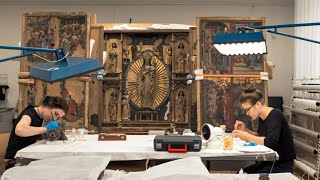Kunsttechnologie, Konservierung und Restaurierung von Kunst- und Kulturgut an der HfBK Dresden