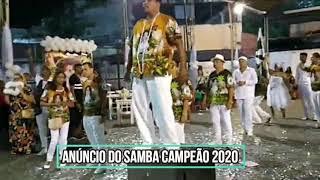 ANÚNCIO DO SAMBA CAMPEÃO - ARRASTÃO DE CASCADURA CARNAVAL 2020