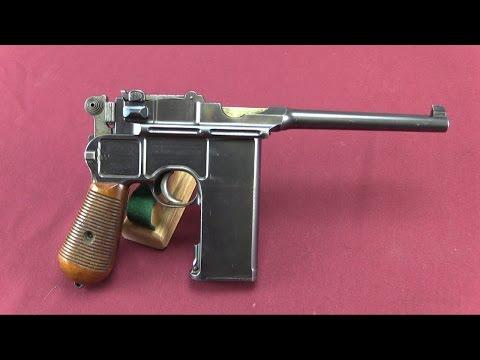 "20-Shot C96 ""Broomhandle"" Mauser"