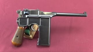 "20-Shot C96 ""Broomhandle"" Mauser at James D Julia"
