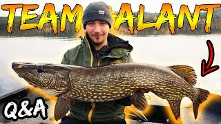 TROLLING PIKE IN AUTUMN - Learn How To (Q&A) | Team Galant