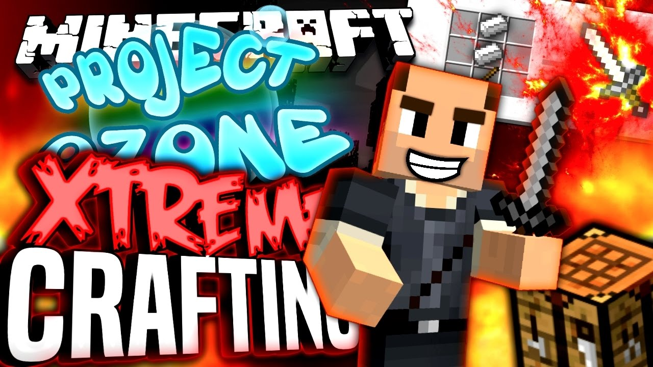 Xtreme Crafting Table Project Ozone
