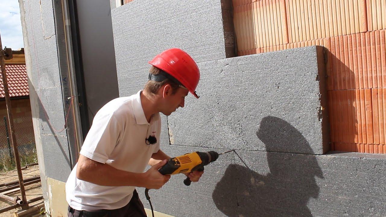 Zateplení domu polystyrenem postup