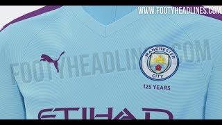 Manchester City 19 20 Home Kit Leaked