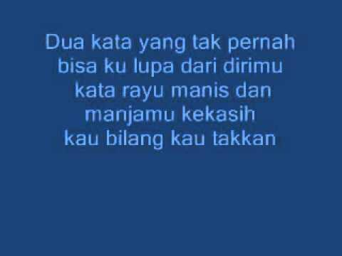 Adista   Ku tak Bisa Lyrics HD