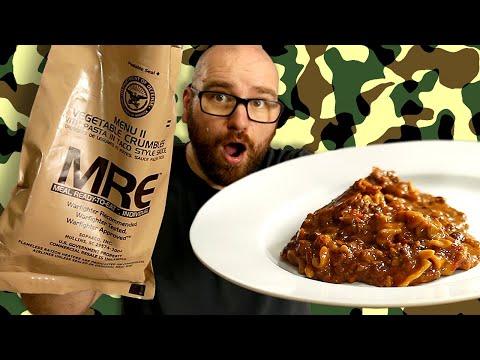 Veggie MRE Taste Test! Lets try the 2019 Vegetarian Military Rations!