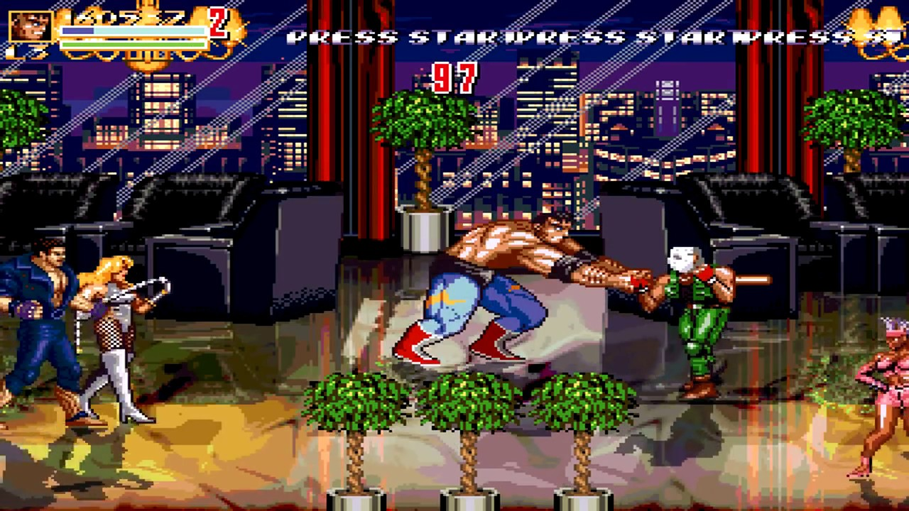 OpenBoR games: Streets of Rage Z playthrough