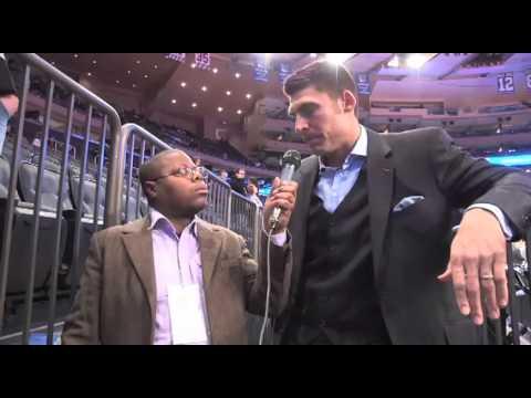 """Wally Szczerbiak of MSG Speaks to Derrel """"Jazz"""" Johnson About New York Knicks"""
