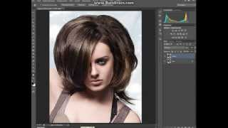Видеоурок по Photoshop CS6: Как изменить цвет волос!