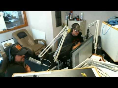 Pissing Razors Visits Buzz Adams & the KLAQ Morning Show