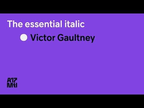 The Essential Italic - Victor Gaultney