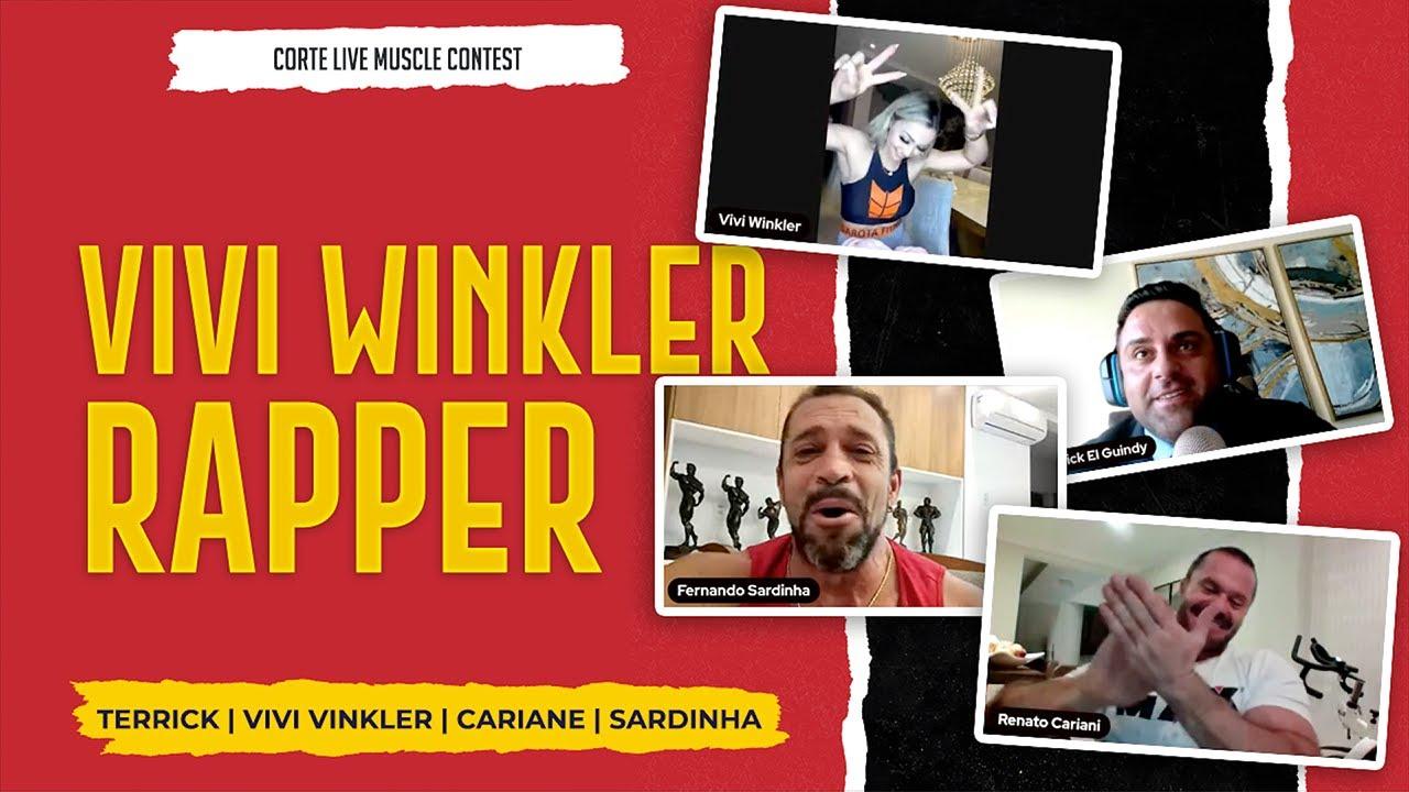 VIVI WINKLER VAI FAZER CLIPE DE HIP HOP   VIVI WINKLER RAPPER