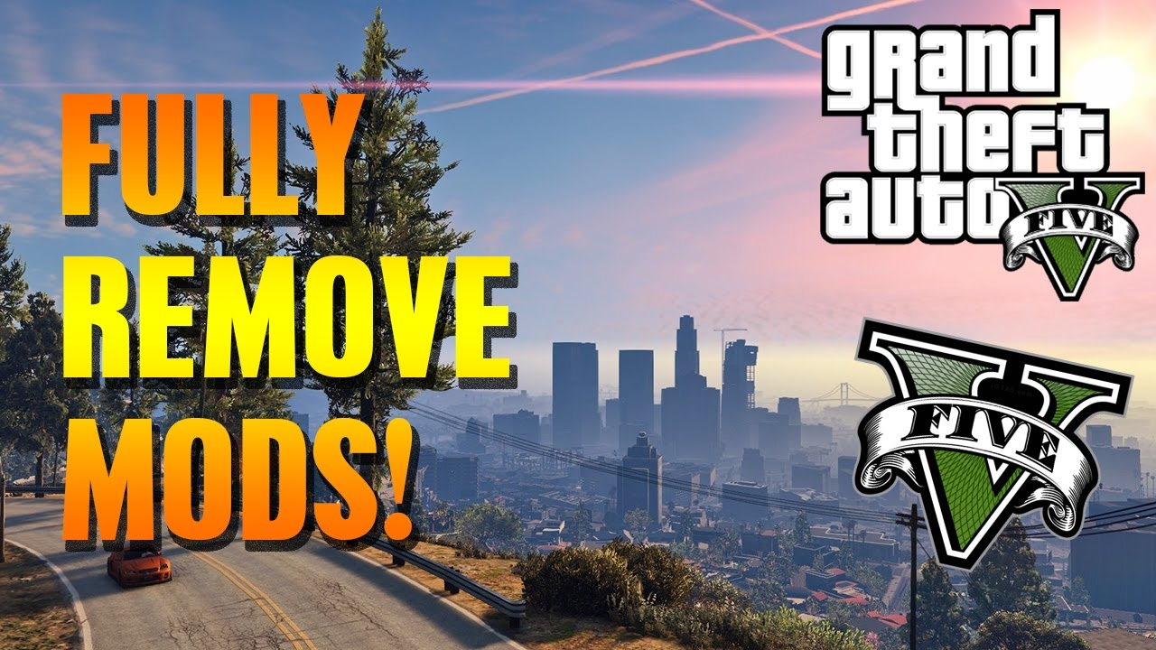 GTA 5 PC - FULLY REMOVE ALL YOUR MODS EASY & FIX CORRUPT GAME ERRORS !