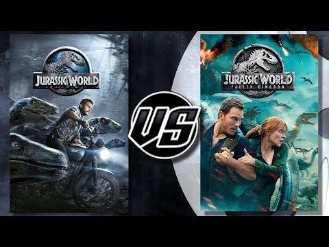 Jurassic World VS Jurassic World Fallen Kingdom