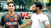 VOETBAL CHALLENGE vs FC BARCELONA SPELER - TOUZANI TV