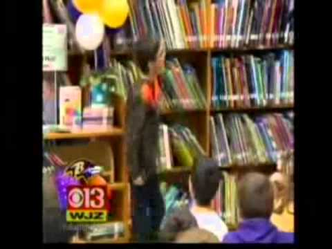 Matt Birk Annouces His Retirement by Opening a Scholastic Community Reading Oasis