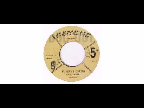 """Genesis  - Drum Talk - 7"""" - Genetic"""