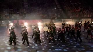 2nd Battalion Royal Irish Regiment Pipe Band - Belfast Tattoo 2016