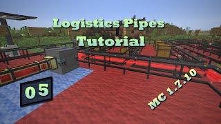 Logistics Pipes Tutorial - #5 - Power Transfer (RF & IC2 EU)