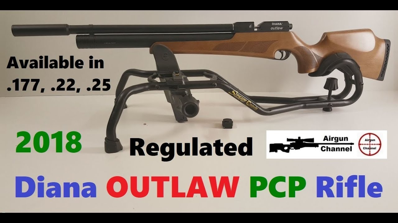 Diana OUTLAW Regulated PCP Rifle (Unboxing, Assembly, Cleaning)  25 Caliber