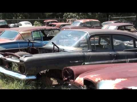 Salvage Yards Tyler Tx >> Gearhead Field Of Dreams Antique Car Salvage Yard Youtube