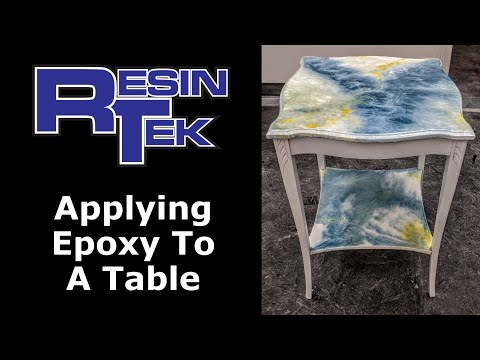 Epoxy Table Top Coatings - How To Epoxy Resin Table - Epoxy Table Top Finish