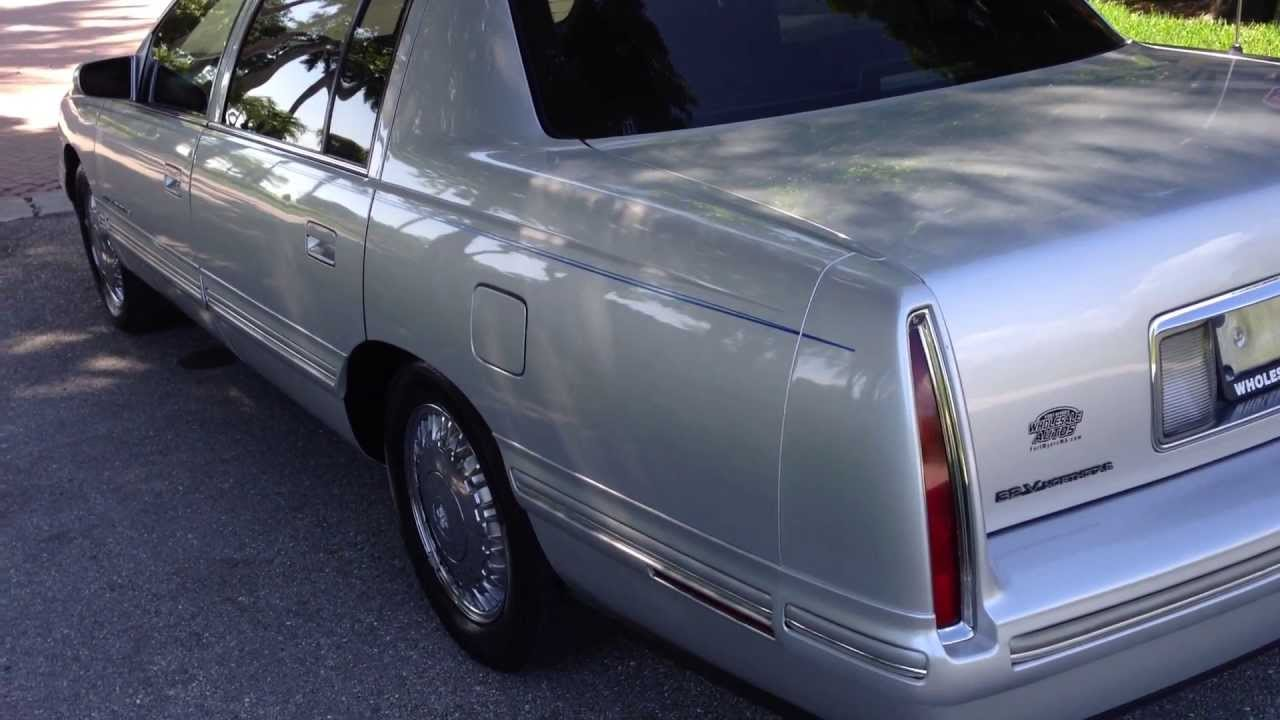 1999 cadillac deville concours view our current inventory at fortmyerswa com youtube
