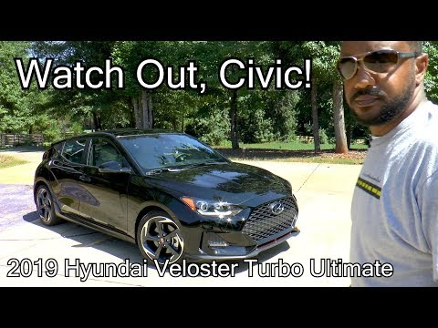 2019 Hyundai Veloster Turbo Ultimate Review Watch Out, Civic