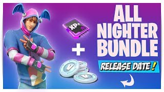 COMMENT OBTENIR ALL NIGHTER BUNDLE' À FORTNITE (DATE DE SORTIE) NOUVEAU KPOP SKIN STARTER PACK GRATUIT REWARDS!
