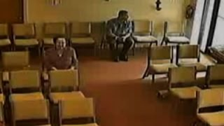 Raw: Church Purse Snatcher Caught on Video