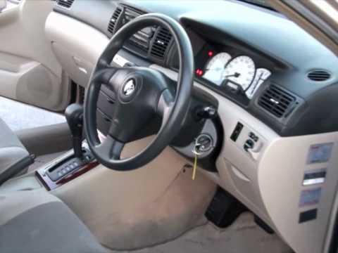 Toyota Corolla Allex 2001 76km 1 5l Auto Youtube