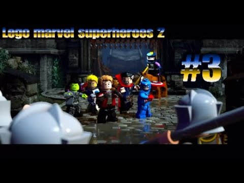 Lego marvel superheroes 2 playthrough part 3 [Lets get midevil!]