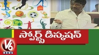 Minister Padma Rao Clarification On Sports Issue | Telangana Legislative Council | V6 News