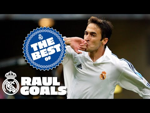 Raul Best Goals at Real Madrid