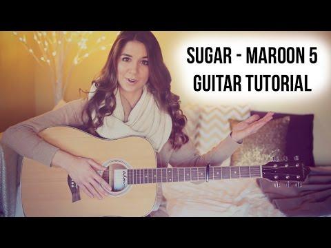 Sugar - Maroon 5 Guitar Tutorial // Easy