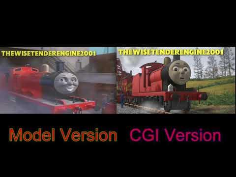 Liam Fitzgerald's Thomas and Friends Redub: Intro Comparison (Model Version VS CGI Version)