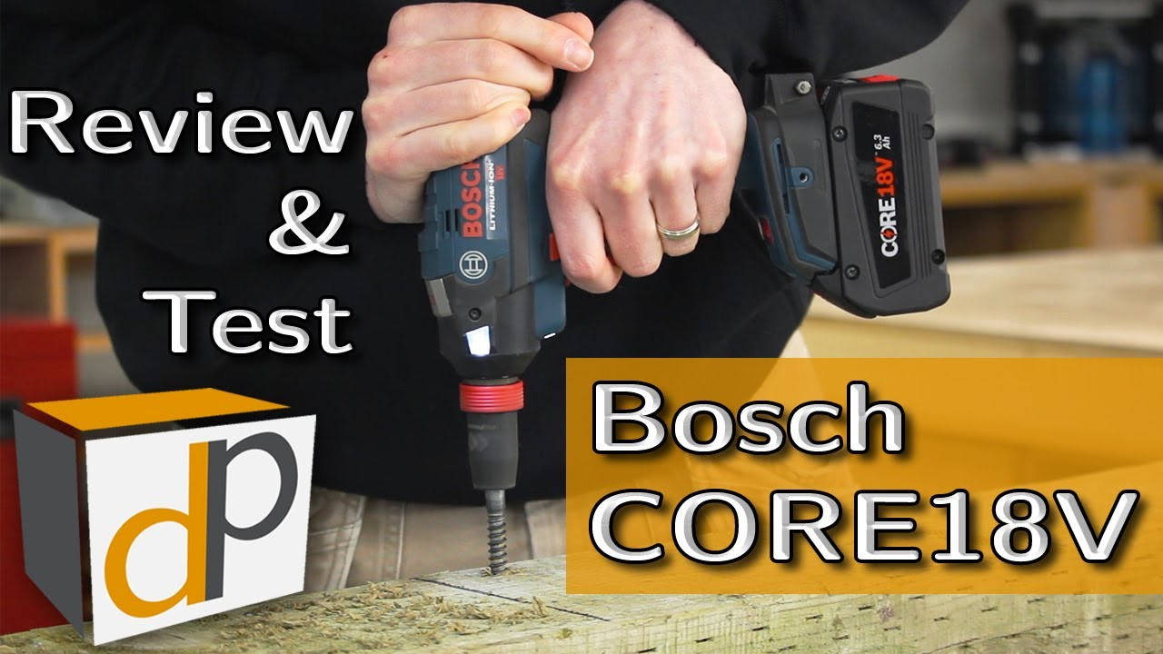 bosch core18v 6 3 ah battery full review test youtube. Black Bedroom Furniture Sets. Home Design Ideas