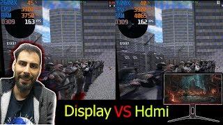 Oyuncu Monitörü! HDMI VS DISPLAY Hangisi Daha İyi? (Kablo Farkı Rampage RM-165)
