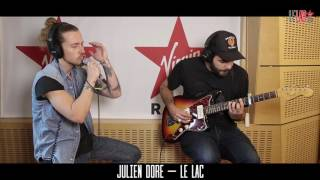 Julien Doré dans Le Lab Virgin Radio - Le Lac