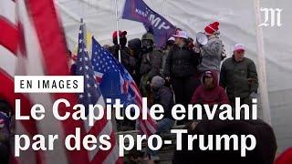 Le Capitole envahi : des centaines de supporteurs de Trump forcent l'entrée du congrès américain