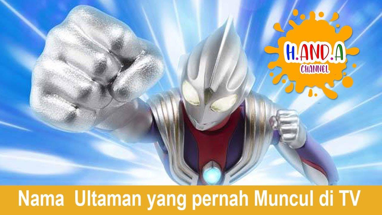 Download Nama nama Ultraman yang pernah tayang di TV Indonesia