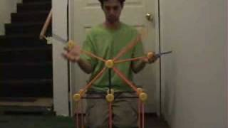 Tinkertoy Juggling Machine