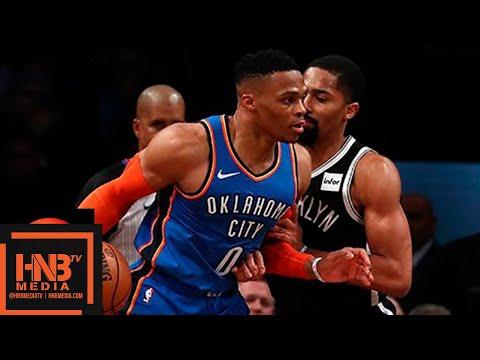 Oklahoma City Thunder vs Brooklyn Nets Full Game Highlights   12.05.2018, NBA Season