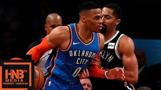 Oklahoma City Thunder vs Brooklyn Nets Full Game Highlights | 12.05.2018, NBA Season