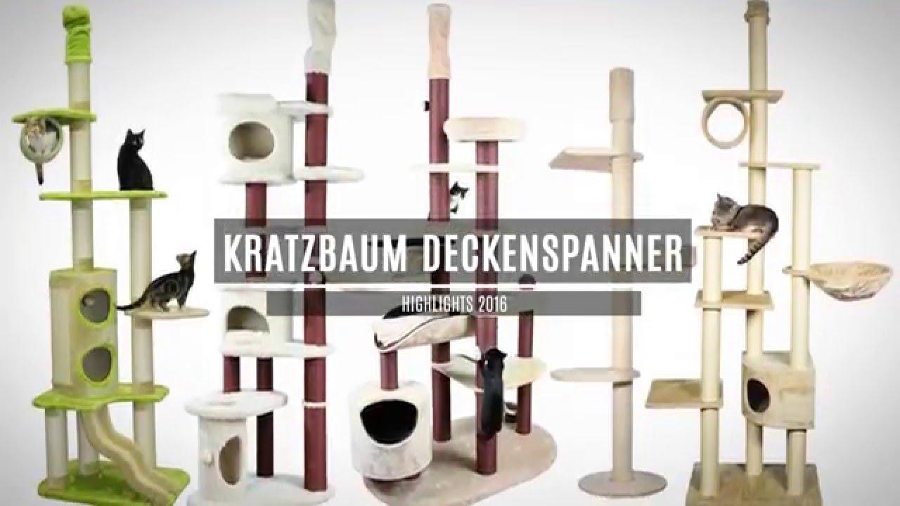 kratzbaum deckenspanner youtube. Black Bedroom Furniture Sets. Home Design Ideas