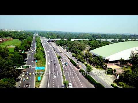 Best indoor stadium in India?? Fly over Indira Gandhi Stadium, New Delhi thumbnail