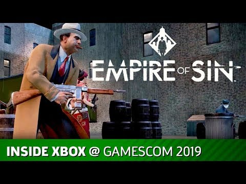 Empire of Sin – FULL Inside Xbox Presentation | Gamescom 2019